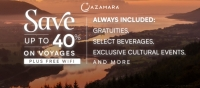 azamara - save up to 40%